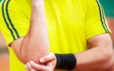 Fysiotherapie bij een tenniselleboog of golferselleboog