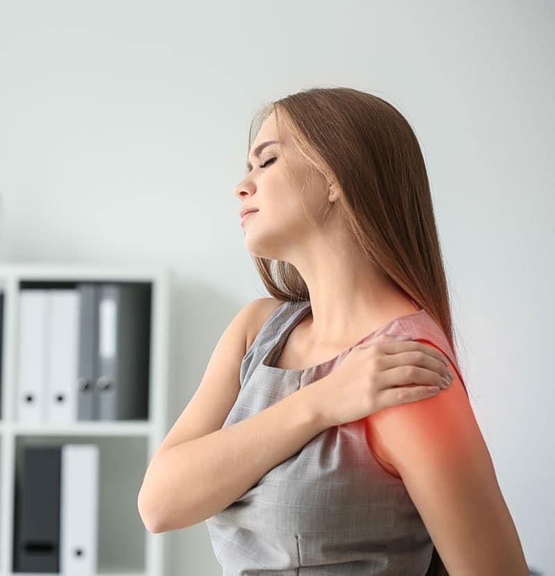 Symptomen van schouderproblemen