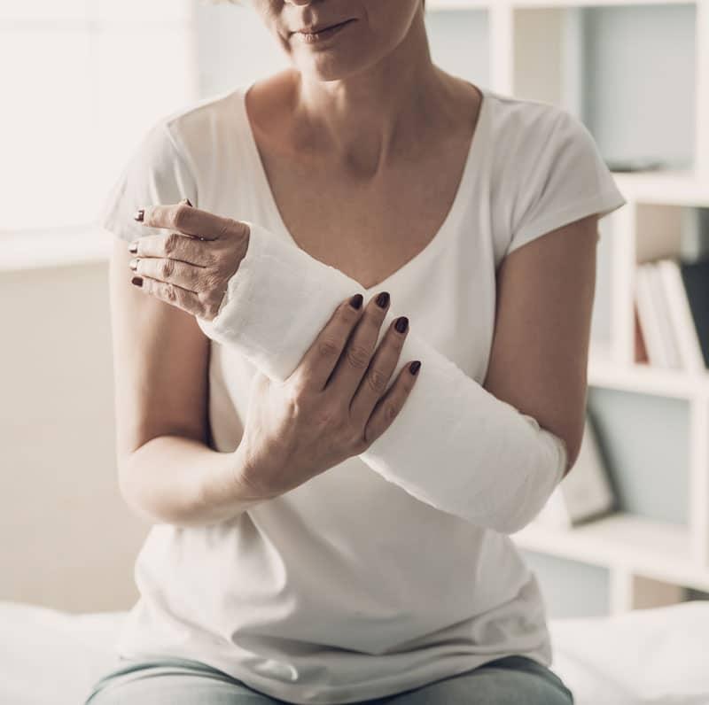 Fysiotherapie bij gebroken pols