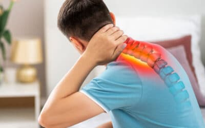 Fysiotherapie bij klachten door een nekhernia
